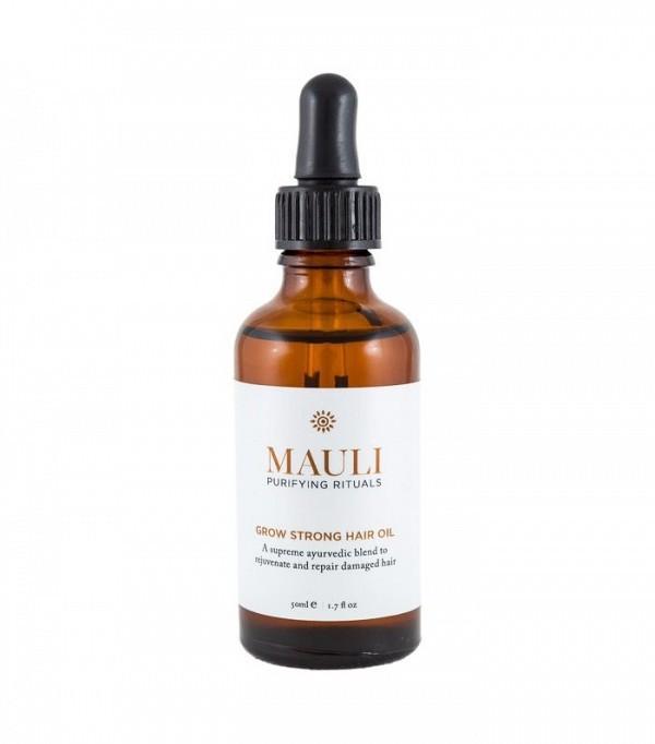 How to grow hair faster: Mauli Grow Strong Hair Oil