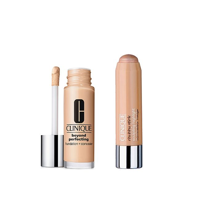 Clinique Hello Cheekbones and Beyond Perfecting Foundation + Concealer