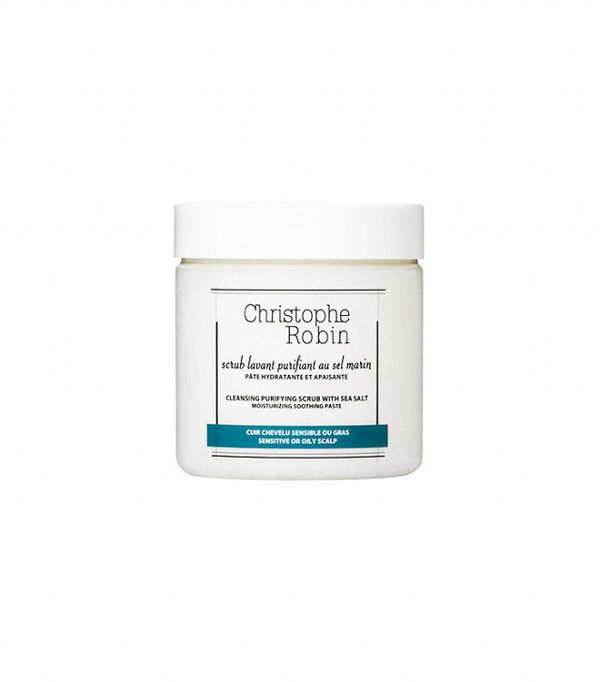How to get rid of dandruff: Christophe Robin Cleansing Purifying Scrub with Sea Salt