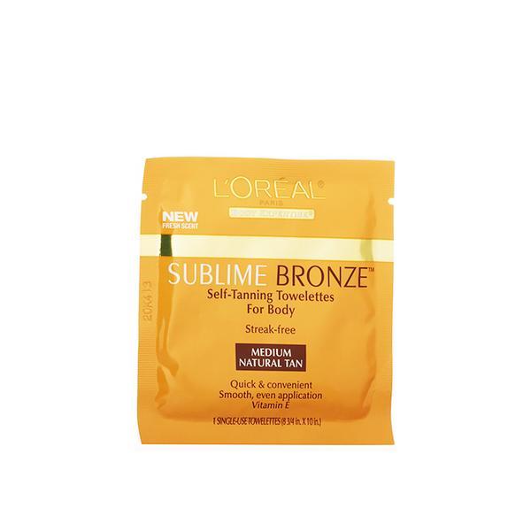 L'Oreal Paris Sublime Self-Tanning Towelettes