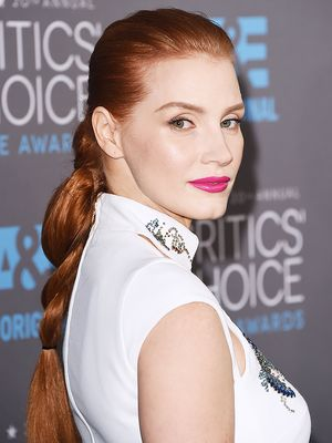 Jessica Chastain's Modern Braid, Plus More Celeb Beauty!