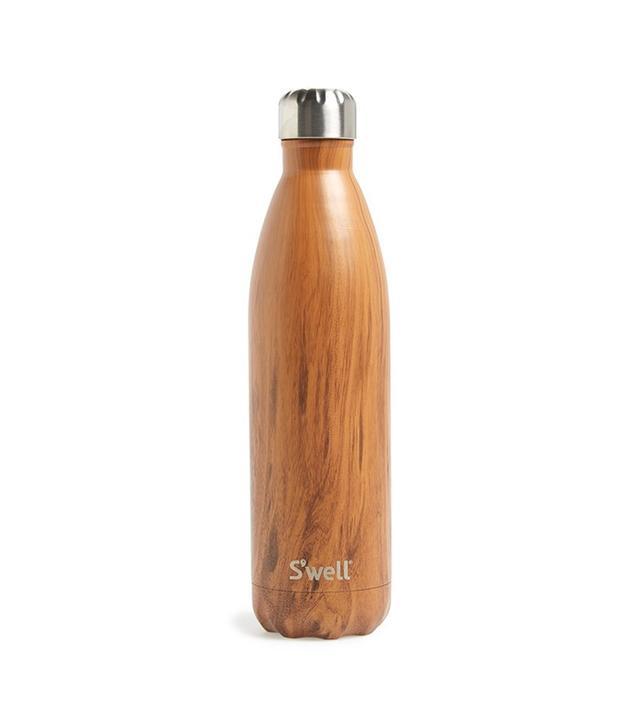 Swell Teakwood Stainless Steel Water Bottle