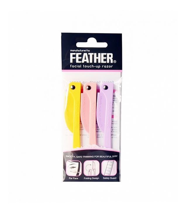 Feather Facial Touch-Up Razor