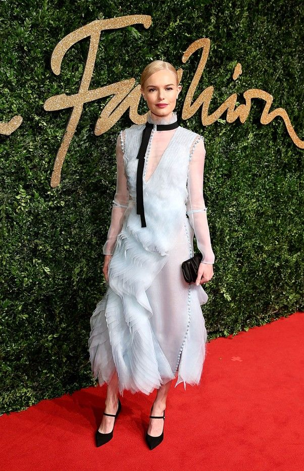 WHO: Kate Bosworth WEAR: Erdem Ivonne dress from the S/S 16 collection.