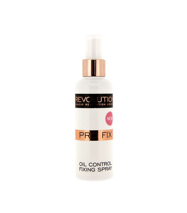 Best makeup setting sprays: Makeup Revolution Pro Fix Oil Control Makeup Fixing Spray