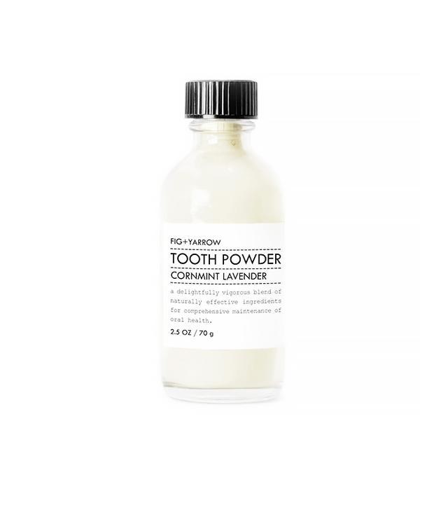 Fig + Yarrow's Cornmint Lavender Tooth Powder