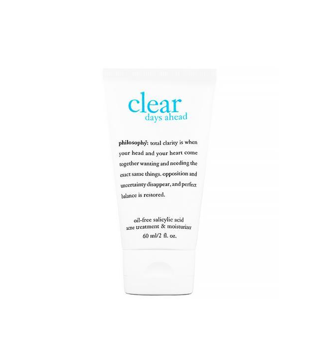 Philosophy Clear Days Ahead Oil-Free Salicylic Acid Acne Treatment and Moisturizer