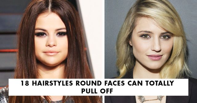 18 hairstyles round faces can totally pull off byrdie uk urmus Choice Image