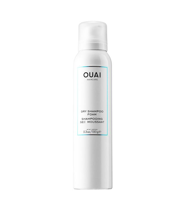 How to get thicker Hair: Ouai Dry Shampoo Foam