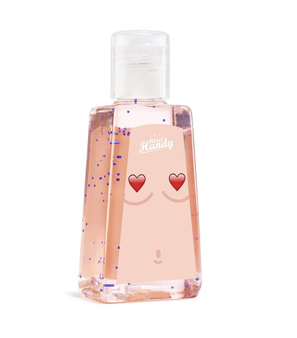 Breast cancer awareness beauty products: Merci Handy Hand Cleansing Gel