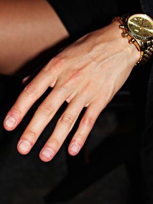 The Instagram-Inspired Nude Nail Trick We Picked Up at Alexander Wang