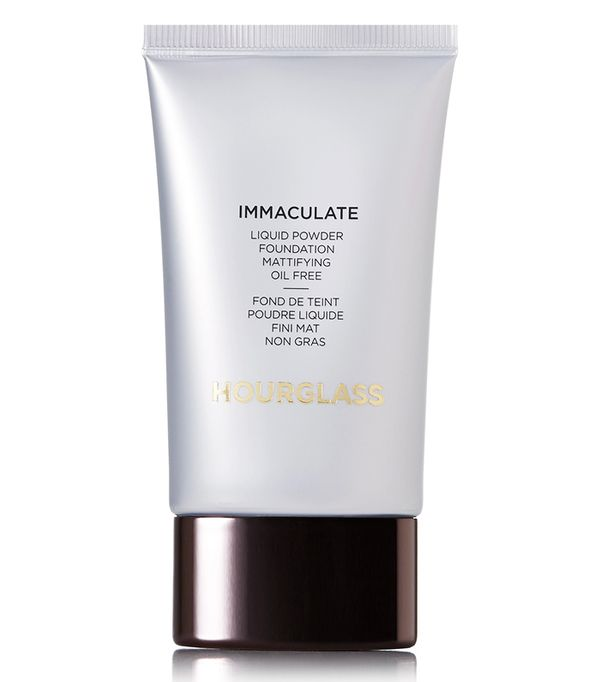 Best full-coverage foundation: Hourglass Immaculate Liquid Powder Foundation