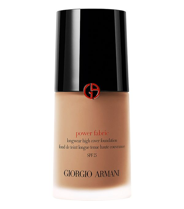 Best full-coverage foundation: Giorgio Armani Power Fabric Foundation