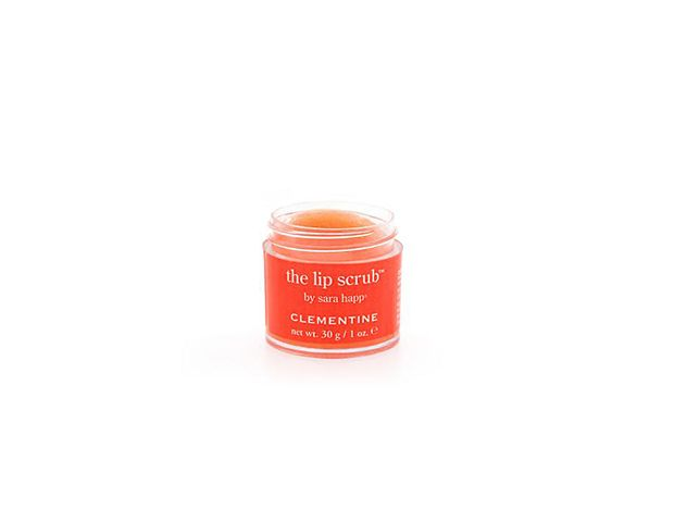 Sara Happ The Lip Scrub in Clementine