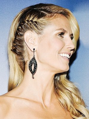 Heidi Klum Rocks A Bad Arse Braid (Plus More Celeb Beauty!)