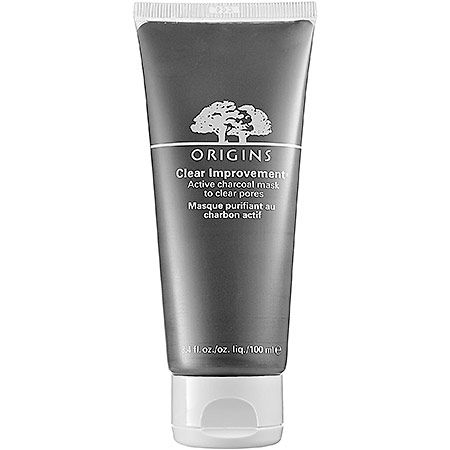 7 Brilliant Ways to Unclog Your Pores: Origins Clear Improvement Active Charcoal Mask