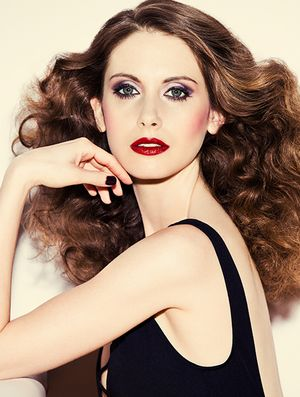Exclusive: Mad Men's Alison Brie Gets a '70s Makeover