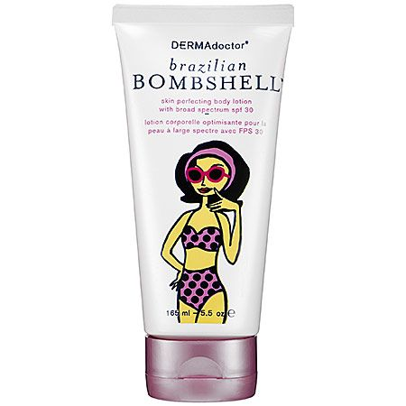 Dermadoctor Brazilian Bombshell Skin Perfecting Body Lotion with Broad Spectrum SPF 30