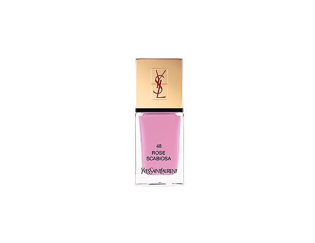 YSL La Laque Couture Nail Polish in Rose Scabiosa
