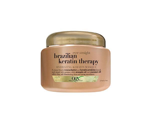 Organix Ever Straight Brazilian Keratin Therapy Hydrating Keratin Masque