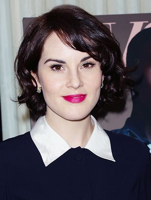 Michelle Dockery Hits Two Spring Trends in One