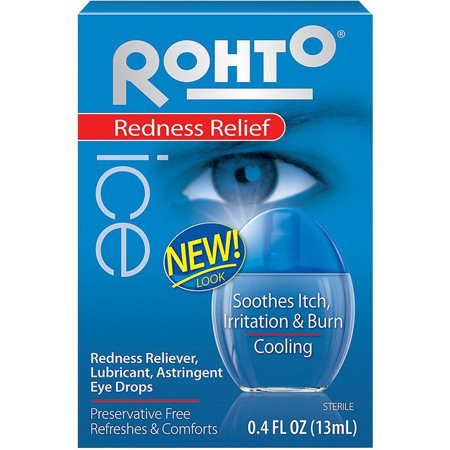 Rohto Ice Redness Relief Eye Drops