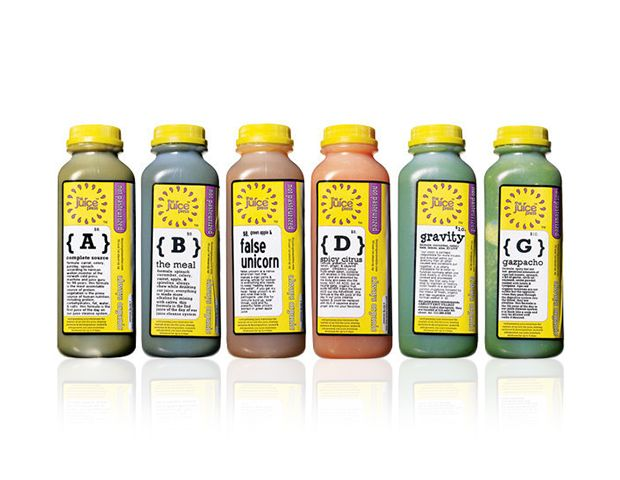 Juice Press Basic 6 Juices Per Day Cleanse