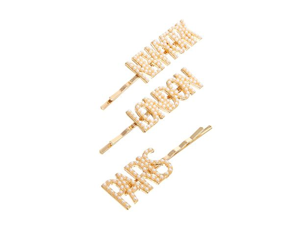 ASOS Pack of Three City Hair Clips