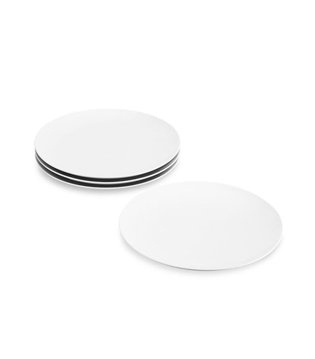 Pillivuyt Coupe Porcelain Buffet Plates, Set of 4
