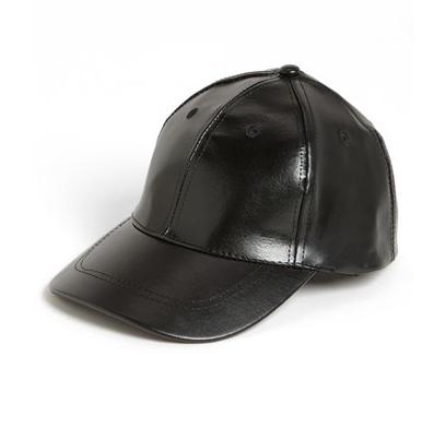BP Faux Leather Baseball Cap