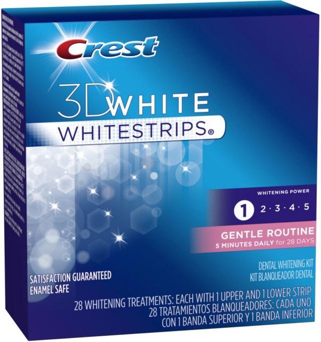 Crest 3D White Gentle Routine