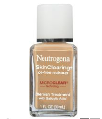 Neutrogena Skin Clearing Oil-Free Makeup