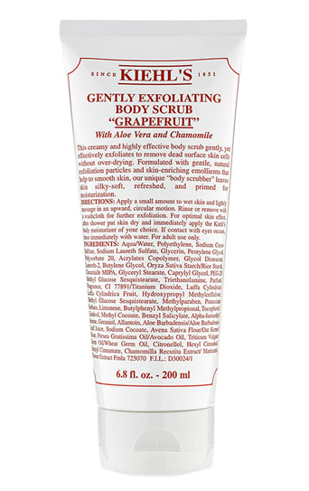 Kiehl Gently Exfoliating Body Scrub