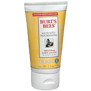 Burt's Bee's Naturally Nourishing Milk & Honey Body Lotion
