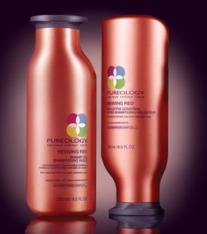 Pureology Reviving Red Color Care Shampoo