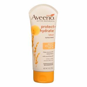 Aveeno Protect + Hydrate Sunscreen Broad Spectrum SPF 30