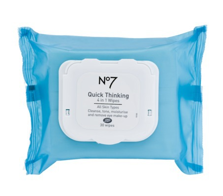 Boots No. 7 Quick Thinking 4-in-1 Wipes