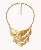 Forever 21 Art Deco Bib Necklace