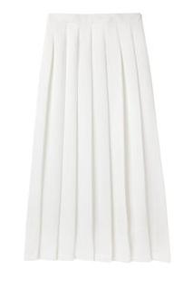 Nomia Pleated Midi Skirt
