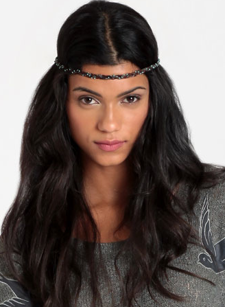 Gypsy Junkies Leather wrap headband