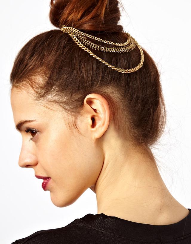 ASOS Chain Bun Hair Combs