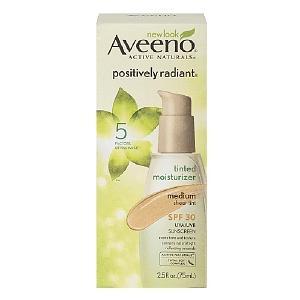 Aveeno Positively Radiant Tinted Moisturizer