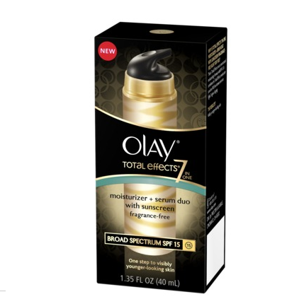 Olay Total Effects 7-in-One Moisturizer + Serum Duo SPF 15