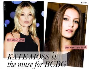 Kate Moss is the Muse for BCBG