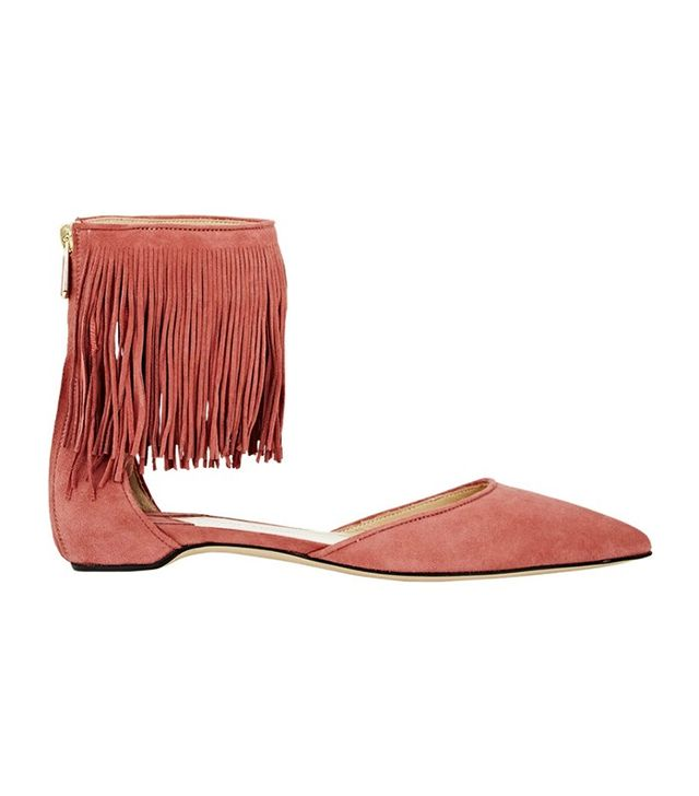 Paul Andrew Fringed Espanola Sandals