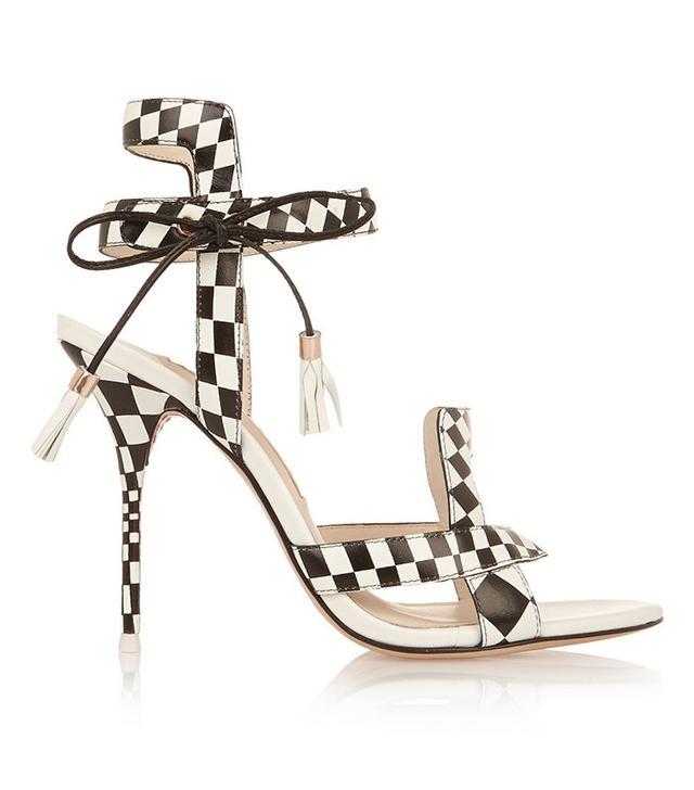 Sophia Webster Poppy Check Sandals
