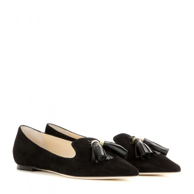 Jimmy Choo Gabby Suede Slippers