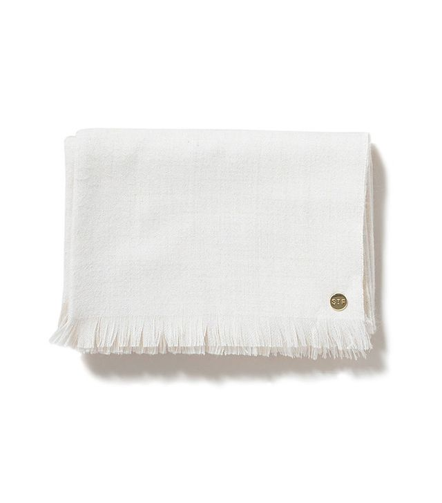 St. Frank Baby Alpaca Throw