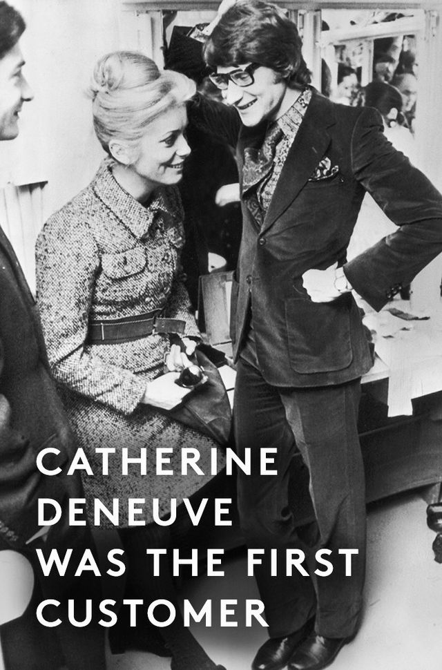 """The first to sport it was Catherine Deneuve in 1967.""Source: Icon-Icon"