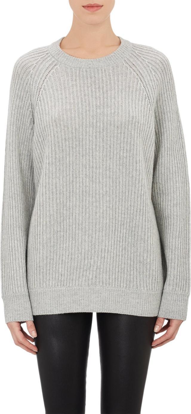T by Alexander Wang English Rib-Knit Sweater